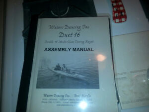 Waters Dancing Duet Kayak boat kit