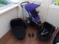 Latest model Quinny buzz Xtra travel system in excellent condition