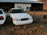 Parting out 2009 Crown Vic