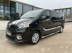 2017 Renault Trafic LL29 SPORT NAV ENERGY 1.6DCI EU6 145ps 6 Seat CREW CAB *A/C*