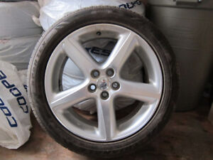 8 215/50/R17 Tires (4 Summers on Rims & 4 Studded Winters)