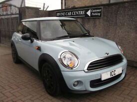 13 63 MINI 1.6 FIRST 3DR ICE BLUE 1 YEARS MOT 2 OWNERS FROM NEW SPOTLIGHTS 2KEYS