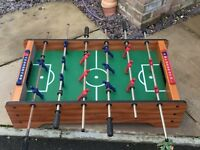 Mini table top football