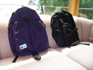 MEC & Sierra Club back packs