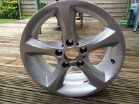 """17"""" alloy BMW wheel"""