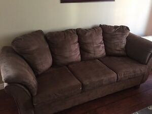 Microfibre couch for sale!