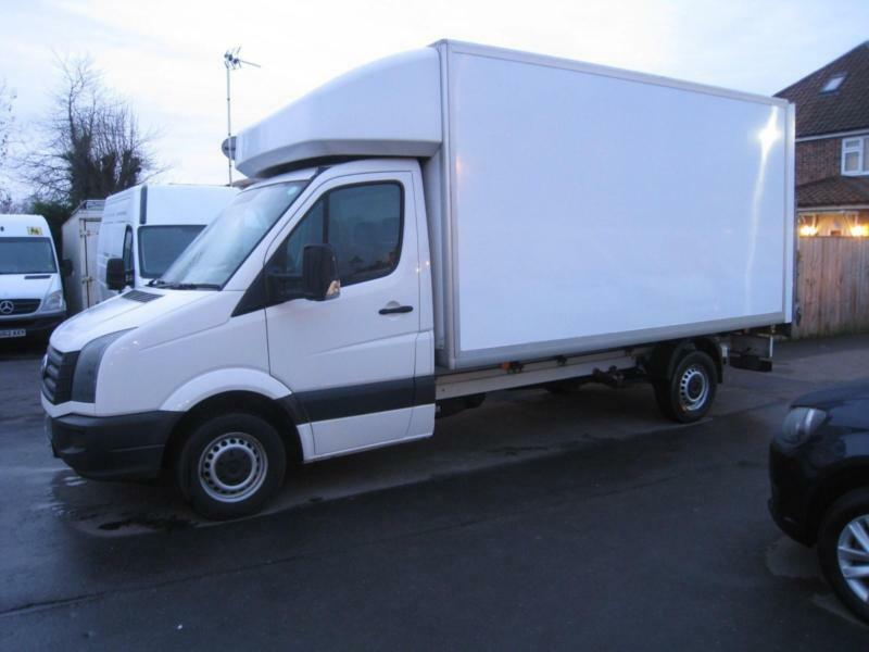 bd509e7335 67 REG Volkswagen Crafter 2.0TDI ( 140PS ) 14 FOOT LUTON WITH TAILIFT