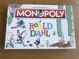 Brand New Roald Dahl Monopoly Boardgame