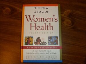 The New A to Z of Women's Health Fourth Edition Kitchener / Waterloo Kitchener Area image 1