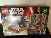 Lego Star Wars battle on the takodana BNIB