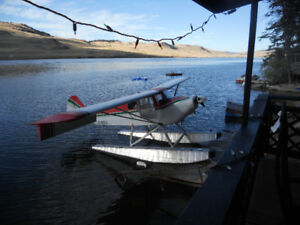 waterfront water front lake aircraft plane