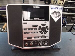 Boss eBand JS-10 Audio Player with Guitar Effects!