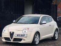 * 2011 ALFA ROMEO MITO 1.4 TB VELOCE AUTO + 135 BHP + LOW 46K MILES + AUTOMATIC