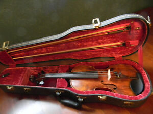 A vintage Guarneri violin with an amazing carved scroll pattern Kitchener / Waterloo Kitchener Area image 7