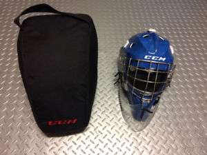 CCM 9000 SENIOR GOALIE MASK - Fiberglass Shell...not Plastic!