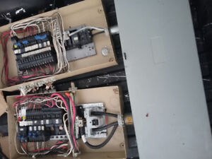 Complete 400 amp electrical service