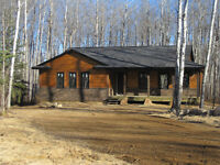 Delaronde Lake Resort Home on 1 acre lot - New Construction