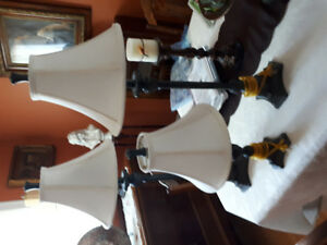 Table lamps for sale $20