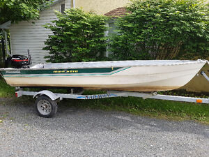 14 ft. Fishing Boat and motor, with trailer...