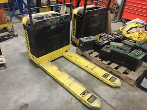 2014 Hyster pallet jack truck electric freighters special