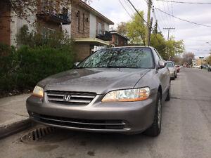 2001 Honda Accord Familiale