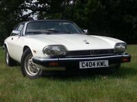 1986 JAGUAR XJS XJS HE AUTOMATIC CABRIOLET SUPERB TUDOR WHITE WITH ISIS BLU