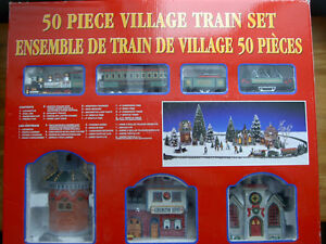 Village Train Set