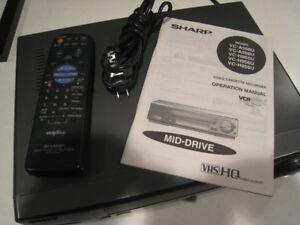 Sharp Hi-Fi Stereo VCR Plus