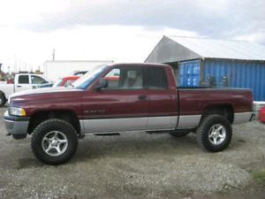 Wanted to buy 1999-2001 dodge ram off road