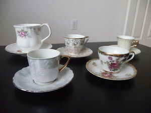 4 DEMI TASSE CUPS PLUS MORE