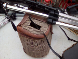 WICKER FISHING CREEL-ONLY 30.00..THESE ARE GETTING TO GET