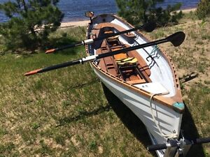 Classic Whitehall Spirit® 17 Double Slide Seat Sculling Rowboat Kawartha Lakes Peterborough Area image 2