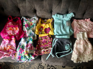 Large Lot Of Girls Summer Clothing Size 10-12 Excellent Shape
