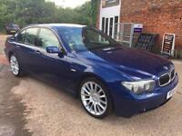2004 BMW 745 4.4 SE Automatic Petrol 5 Door Hatchback in Blue