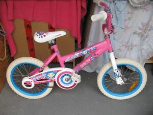 "GIRL'S BIKE--16""--CAN'T TEXT."