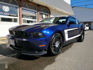 2012 Mustang BOSS 302 with only 9,200km