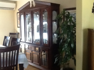 China Cabinet - solid cherry wood
