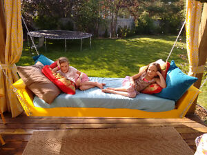 Swinging Brand New Day Bed for Indoors and Outdoors/Porch Swing