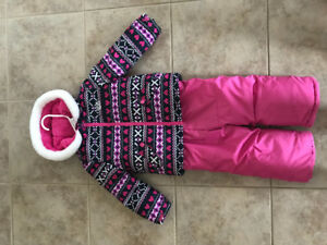 Toddler girl snowsuit!