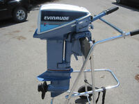 Evinrude 15hp, 2 stroke with gas tank