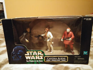 Star Wars: Cantina Aliens Figure Set UNOPENED