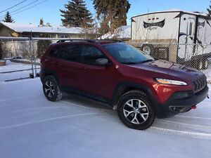 2015 Jeep Cherokee Trailhawk LOADED, No GST, No Accidents