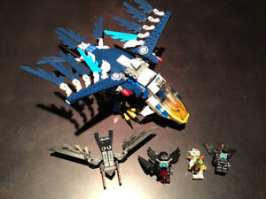 LEGO Chima 70003 Eris Eagle Interceptor 100% Complete