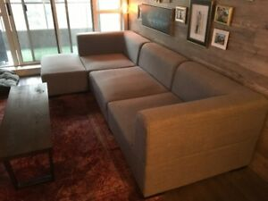 Modern Oversized Sectional Couch