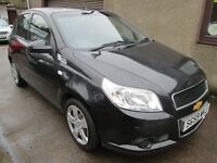 Chevrolet Aveo 1.2 LS - WITH ONLY 29561 MILES - BUY NOW PAY IN 6 MONTHS - (black) 2010
