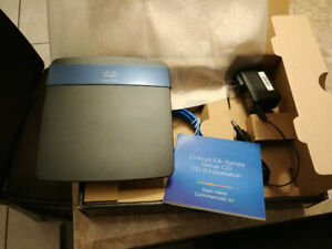 LINKSYS EA3500 N750 DUAL-BAND  2.5 & 5 Ghz SMART WI-FI ROUTER