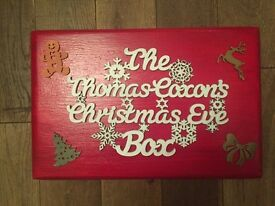 Personalised Christmas Eve boxes