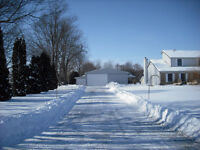 SNOW REMOVAL INSURED AND RELIABLE