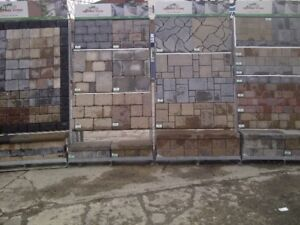 Interlock Patio Stones Retaining Walls