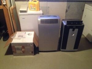 Portable air conditioners and window unit